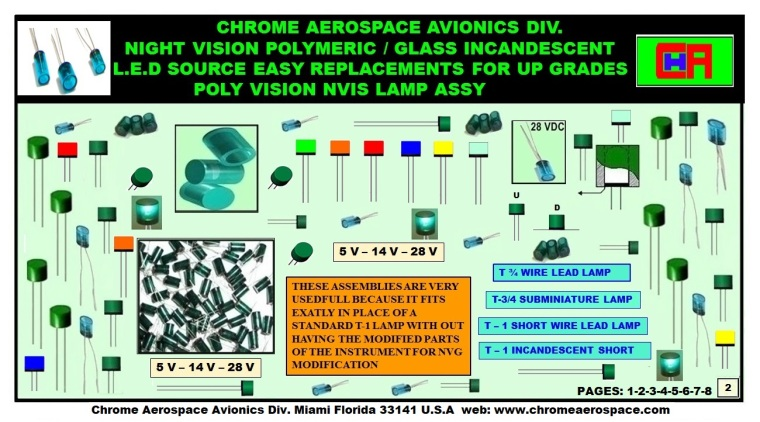 NVIS, NVIS LAMPS,