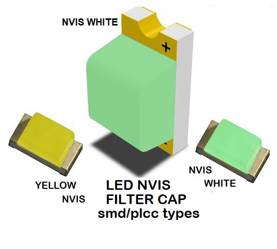 1206 SMD LED NVIS WHITE FILTER 1206 SMD LED NVIS WHITE PCB  1206 SMD-PLCC LED NVIS WHITE FILTER 1206 SMD-PLCC LED NVIS WHITE PCB