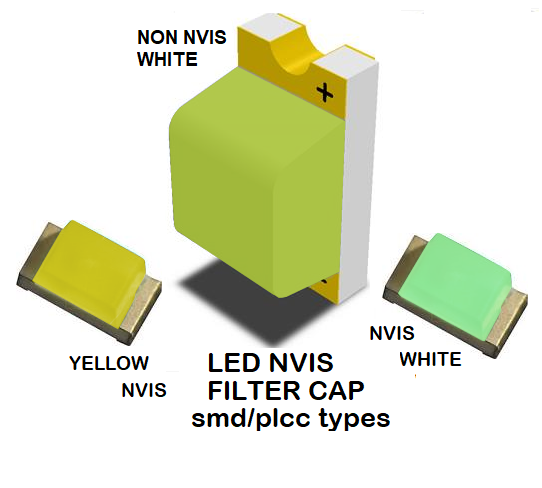 1206 SMD LED NVIS NON-WHITE FILTER 1206 SMD LED NVIS NON-WHITE PCB SMD-PLCC LED NON NVIS WHITE FILTER SMD-PLCC LED NON NVIS WHITE PCB