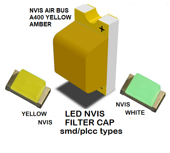 1206 LED NVIS AIRBUS A400 YELLOW AMBER FILTER 1206 LED NVIS AIRBUS A400 YELLOW AMBER PCB 1206 SMD-PLCC LED NVIS AIRBUS A 400 YELLOW AMBER FILTER 1206 SMD-PLCC LED NVIS AIRBUS A 400 YELLOW AMBER PCB