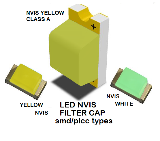 1206 LED NVIS YELLOW CLASS A FILTER 1206 LED NVIS YELLOW CLASS A PCB 1206 SMD-PLCC LED NVIS YELLOW CLASS A FILTER 1206 SMD-PLCC LED NVIS YELLOW CLASS A PCB