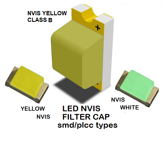 1206 LED NVIS YELLOW CLASS B FILTER 1206 LED NVIS YELLOW CLASS B PCB 1206 SMD-PLCC LED NVIS YELLOW CLASS B FILTER 1206 SMD-PLCC LED NVIS YELLOW CLASS B PCB