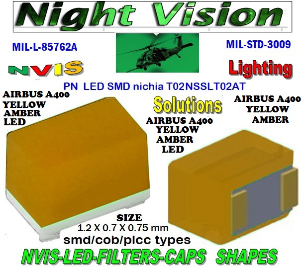NICHIA NSSLT02AT NICHIA NSSLT02AT , LED NVIS GREEN A 525 nm  FILTER CAP L-65403-R0603-003  L-65196-A0805-003 L-65330-A0805-003 L-65197-B0805-003 L-65250-B0805-003   L-65196-A0603-003 L-65330-A0603-003 L-65197-B0603-003 L-65250-B0603-003 L-65648-W0603-003 L-65951-W0603-003 L-65401-Y0603-003  L-65402-Y0603-003 L-65403-R0603-003 L-65196-A0805-003 L-65330-A0805-003 L-65197-B0805-003 L-65250-B0805-003 L-65648-W0805-003 L-65951-W0805-003 L-65401-Y0805-003 L-65402-Y0805-003 L-65403-R0805-003 L-65196-A1206-002 L-65330-A1206-002  L-65197-B1206-002 L-65250-B1206-002 L-65648-W1206-002  L-65951-W1206-002 L-65401-Y1206-002 L-65402-Y1206-002 L-65403-R1206-002 SMD-PLCC LED  NVIS AIRBUS A400 YELLOW AMBER FILTER CAP  1206 LED NVIS AIRBUS A400 YELLOW AMBER FILTER 1206 LED NVIS AIRBUS A400 YELLOW AMBER PCB 1206 SMD-PLCC LED NVIS AIRBUS A 400 YELLOW AMBER FILTER 1206 SMD-PLCC LED NVIS AIRBUS A 400 YELLOW AMBER PCB L-65196-A1206-003 L-65330-A1206-003 L-65197-B1206-003 L-65250-B1206-003  L-65648-W1206-003 L-65951-W1206-003 L-65401-Y1206-003 L-65402-Y1206-003 1206-002 LED NVIS AIRBUS A400 YELLOW AMBER FILTER 1206-002 LED NVIS AIRBUS A400 YELLOW AMBER PCB 1206-002 SMD-PLCC LED NVIS AIRBUS A 400 YELLOW AMBER FILTER 1206-002 SMD-PLCC LED NVIS AIRBUS A 400 YELLOW AMBER PCB  L-65403-R1206-003   L-65196-A320-001 L-65330-A320-001 L-65197-B320-001 L-65250-B320-001 L-65648-W320-001  L-65951-W320-001 L-65401-Y320-001 L-65402-Y320-001 L-65403-R320-001 L-65196-A670-001 L-65330-A670-001 L-65197-B670-001 L-65250-B670-001 L-65648-W670-001 0805 LED NVIS AIRBUS A400 YELLOW AMBER FILTER 0805 LED NVIS AIRBUS A400 YELLOW AMBER PCB  0805 SMD-PLCC LED NVIS AIRBUS A 400 YELLOW AMBER FILTER  0805 SMD-PLCC LED NVIS AIRBUS A 400 YELLOW AMBER PCB   0805-003 LED NVIS AIRBUS A400 YELLOW AMBER FILTER 0805-003 LED NVIS AIRBUS A400 YELLOW AMBER PCB 0805-003 SMD-PLCC LED NVIS AIRBUS A 400 YELLOW AMBER FILTER 0805-003 SMD-PLCC LED NVIS AIRBUS A 400 YELLOW AMBER PCB L-65401-Y670-001 L-65401-Y670-001 L-65403-R670-001 L-6519