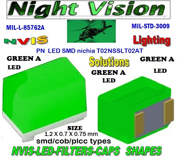 1206 SMD NVIS LED GREEN A FILTER 1206 SMD LED NVIS GREEN A PCB 1206 SMD-PLCC LED NVIS GREEN A FILTER 1206 SMD-PLCC LED NVIS GREEN A PCB  NICHIA NSSLT02AT NICHIA NSSLT02AT , LED NVIS GREEN A 525 nm  FILTER CAP  L-65403-R0603-003  L-65196-A0805-003 L-65330-A0805-003 L-65197-B0805-003 L-65250-B0805-003  L-65196-A0603-003 L-65330-A0603-003 L-65197-B0603-003 L-65250-B0603-003 L-65648-W0603-003 L-65951-W0603-003 L-65401-Y0603-003  L-65402-Y0603-003 L-65403-R0603-003 L-65196-A0805-003 L-65330-A0805-003 L-65197-B0805-003 L-65250-B0805-003 L-65648-W0805-003 L-65951-W0805-003 L-65401-Y0805-003 L-65402-Y0805-003 L-65403-R0805-003 L-65196-A1206-002 L-65330-A1206-002  L-65197-B1206-002 L-65250-B1206-002 L-65648-W1206-002  L-65951-W1206-002 L-65401-Y1206-002 L-65402-Y1206-002 L-65403-R1206-002 SMD-PLCC  LED NVIS GREEN A   FILTER CAP  1206 SMD NVIS LED GREEN A FILTER 1206 SMD LED NVIS GREEN A PCB 1206 SMD-PLCC LED NVIS GREEN A FILTER 1206 SMD-PLCC LED NVIS GREEN A PCB L-65196-A1206-003 L-65330-A1206-003 L-65197-B1206-003 L-65250-B1206-003  L-65648-W1206-003 L-65951-W1206-003 L-65401-Y1206-003 L-65402-Y1206-003 1206-002 SMD LED NVIS GREEN A FILTER 1206-002 SMD LED NVIS GREEN A PCB 1206-002 SMD LED-PLCC NVIS GREEN A 1206-002 SMD LED-PLCC NVIS GREEN A PCB      1206-003 SMD LED NVIS GREEN A FILTER       1206-003 SMD LED NVIS GREEN A PCB      1206-003 SMD LED-PLCC NVIS GREEN A FILTER       1206-003 SMD LED-PLCC NVIS GREEN A PCB     1206-003 SMD LED NVIS GREEN B 5252 NM FILTER 1206-003 SMD LED NVIS GREEN B PCB      1206-003 SMD-PLCC LED NVIS GREEN B 525 NM FILTER      1206-003 SMD-PLCC LED NVIS GREEN B NM PCB   1206-006 SMD LED NVIS GREEN A FILTER1206-006 SMD LED NVIS GREEN A PCB 1206-006 SMD-PLCC LED NVIS GREEN A FILTER             1206-006 SMD-PLCC LED NVIS GREEN A PCB  L-65403-R1206-003   L-65196-A320-001 L-65330-A320-001 L-65197-B320-001 L-65250-B320-001 L-65648-W320-001     L-65951-W320-001 L-65401-Y320-001 NVIS 0805 SMD LED NVIS GREEN A FILTER NVIS 0805 SMD LED NVIS GREEN A PCB0805 SMD-PLCC LED NVIS GREEN A FILTER0805 SMD-PLCC LED NVIS GREEN A PCB  L-65402-Y320-001 L-65403-R320-001 L-65196-A670-001 L-65330-A670-001 L-65197-B670-001 L-65250-B670-001 L-65648-W670-001 0805-003 SMD LED NVIS GREEN A FILTER  0805-003 SMD LED NVIS GREEN A PCB  0805-003 SMD LED-PLCC NVIS GREEN A FILTER  0805-003 SMD LED-PLCC NVIS GREEN A PCB      0603 SMD LED NVIS GREEN A FILTE0603 SMD LED NVIS GREEN A PCB0603 SMD-PLCC LED NVIS GREEN A FILTER0603 SMD-PLCC LED NVIS GREEN A PCB  L-65951-W670-001   L-65401-Y670-001 L-65401-Y670-001 L-65403-R670-001 L-65196-A460-001 L-65196-A460-001 L-65197-B460-001 L-65250-B460-001 L-65648-W460-001 L-65951-W460-001 L-65401-Y460-001 L-65402-Y460-001 L-65403-R460-001 0603-003 SMD LED NVIS GREEN A FILTER 0603-003 SMD LED NVIS GREEN A PCB  0603-003 SMD LED-PLCC NVIS GREEN A FILTER   0603-003 SMD LED-PLCC NVIS GREEN A PCB  L-65951-W955-001 L-65401-Y955- 001  L-65401-Y0805-003 L-65402-Y0805-003  L-65403-R0805-003  L-65197-B1206-002 L-65250-B1206-002 L-65648-W1206-002 L-65951-W1206-002 L-65401-Y1206-002 L-65402-Y1206-002 L-65403-R1206-002 L-65197-B1206-003 L-65250-B1206-003 L-65648-W1206-003 L-65951-W1206-003 L-65401-Y1206-003 L-65402-Y1206-003 L-65403-R1206-003 L-65196-A320-001 L-65330-A320-001 L-65197-B320-001 L-65250-B320-001 L-65648-W320-001 L-65951-W320-001 L-65401-Y320-001 L-65402-Y320-001 L-65403-R320-001 L-65196-A670-001 L-65330-A670-001 L-65197-B670-001 L-65250-B670-001 L-65648-W670-001 L-65951-W670-001 L-65401-Y670-001 L-65401-Y670-001 L-65403-R670-001 L-65196-A460-001 L-65196-A460-001  L-65196-A1206-002 L-65330-A1206-002 L-65196-A1206-003 L-65330-A1206-003 L-65197-B460-001  L-65250-B460-001 L-65648-W460-001 L-65951-W460-001 L-65401-Y460-001 L-65402-Y460-001 L-65403-R460-001 L-65196-A955-001 L-65330-A955-001 L-65197-B955-001 L-65250-B955-001 L-65648-W955-001 L-65951-W955-001 L-65401-Y955- 001 1206-002 SMD LED NVIS GREEN A FILTER   1206-002 SMD LED NVIS GREEN A PCB   1206-002 SMD LED-PLCC NVIS GREEN A 1206-002 SMD LED-PLCC NVIS GREEN A PCB     1206-006 SMD LED NVIS GREEN A FILTER  1206-006 SMD LED NVIS GREEN A PCB 1206-006 SMD-PLCC LED NVIS GREEN A FILTER 1206-006 SMD-PLCC LED NVIS GREEN A PCB   NVIS 0805 SMD LED NVIS GREEN A FILTER  NVIS 0805 SMD LED NVIS GREEN A PCB  0805 SMD-PLCC LED NVIS GREEN A FILTER  0805 SMD-PLCC LED NVIS GREEN A PCB  330 SMD PLCC LED 330 LED NVIS COCKPIT LIGHTING 330 LED HELICOPTERS NIGHT VISION LIGHTING NVIS FILTER  0805-003 SMD LED NVIS GREEN A FILTER       0805-003 SMD LED NVIS GREEN A PCB       0805-003 SMD LED-PLCC NVIS GREEN A FILTER       0805-003 SMD LED-PLCC NVIS GREEN A PCB       0603 SMD LED NVIS GREEN A FILTER       0603 SMD LED NVIS GREEN A PCB       0603 SMD-PLCC LED NVIS GREEN A FILTER       0603 SMD-PLCC LED NVIS GREEN A PCB        0603-003 SMD LED NVIS GREEN A FILTER       0603-003 SMD LED NVIS GREEN A PCB       0603-003 SMD LED-PLCC NVIS GREEN A FILTER       0603-003 SMD LED-PLCC NVIS GREEN A PCB      0805-003 SMD LED NVIS GREEN A FILTER       0805-003 SMD LED NVIS GREEN A PCB       0805-003 SMD LED-PLCC NVIS GREEN A FILTER       0805-003 SMD LED-PLCC NVIS GREEN A PCB      0603 SMD LED NVIS GREEN A FILTER       0603 SMD LED NVIS GREEN A PCB       0603 SMD-PLCC LED NVIS GREEN A FILTER       0603 SMD-PLCC LED NVIS GREEN A PCB         0603-003 SMD LED NVIS GREEN A FILTER       0603-003 SMD LED NVIS GREEN A PCB       0603-003 SMD LED-PLCC NVIS GREEN A FILTER       0603-003 SMD LED-PLCC NVIS GREEN A PCB      670 SMD LED NVIS GREEN A FILTER  670 SMD LED NVIS GREEN A PCB  670 SMD-PLCC LED NVIS GREEN A FILTER  670 SMD-PLCC LED NVIS GREEN A PCB  670-001 SMD LED NVIS GREEN A FILTER CAP 670-001 SMD LED NVIS GREEN A PCB  670-001 SMD-PLCC LED NVIS GREEN A FILTER CAP 670-001 SMD-PLCC LED NVIS GREEN A PCB L-65196-A0603-003 NFSW157AT-H3 NICHIA SMD-PLCC LED NVIS GREEN A FILTER CAP   NSCW100 NICHIA NICHIA SMD-PLCC LED NVIS GREEN A FILTER CAP  L-65197-B0603-003 L-65250-B0603-003  L-65648-W0603-003 L-65951-W0603-003 L-65401-Y0603-003 L-65402-Y0603-003  L-65403-R0603-003 L-65196-A0805-003 L-65403-R0603-003 L-65196-A0805-003  L-65330-A0805-003 L-65197-B0805-003 L-65250-B0805-003 L-65951-W0805-003 L-65648-W0805-003 L-65401-Y0805-003 L-65402-Y0805-003 L-65403-R0805-003 L-65196-A1206-002 L-65330-A1206-002 NSSW100DT NICHIA SMD-PLCC LED NVIS GREEN A FILTER CAP     5050 SMD-PLCC LED NVIS GREEN A FILTER CAP     330 SMD-PLCC LED NVIS GREEN A FILTER CAP  L-65197-B1206-002 L-65250-B1206-002 L-65648-W1206-002 L-65951-W1206-002 L-65401-Y1206-002L-65402-Y1206-002 L-65403-R1206-002 L-65196-A1206-003 L-65330-A1206-003 L-65197-B1206-003L-65250-B1206-003 L-65648-W1206-003 L-65951-W1206-003 L-65401-Y1206-003 L-65402-Y1206-003 L-65403-R1206-003L-65196-A320-001 L-65330-A320-001 L-65197-B320-001 L-65250-B320-001 L-65648-W320-001 L-65951-W320-001 L-65401-Y320-001  L-65402-Y320-001 L-65403-R320-001 L-65196-A670-001 L-65330-A670-001 L-65197-B670-001 L-65250-B670-001 L-65648-W670-001L-65951-W670-001 L-65401-Y670-001 L-65401-Y670-001 L-65403-R670-001 L-65196-A460-001 L-65196-A460-001 L-65197-B460-001      330-001 SMD LED NVIS GREEN A FILTER CAP      330-001 SMD LED NVIS GREEN A PCB   330-001 SMD-PLCC LED NVIS GREEN A FILTER CAP       330-001 SMD-PLCC LED NVIS GREEN A PCB   NESSW064AT NICHIA SMD-PLCC LED NVIS GREEN A FILTER CAP       NSSW204BT NICHIA SMD-PLCC LED NVIS GREEN A FILTER CAP   L-65250-B460-001 L-65648-W460-001 L-65951-W460-001 L-65401-Y460-001 L-65402-Y460-001 L-65403-R460-001 L-65196-A955-001 L-65330-A955-001 L-65197-B955-001 L-65250-B955-001 L-65648-W955-001 L-65951-W955-001 L-65401-Y955- 001  955 SMD PLCC LED  955 LED 955 LED NVIS  955 LED HELICOPTERS NIGHT VISION LIGHTING   955 NVIS FILTER  955 Night Vision Imaging Systems (NVIS)  955 PILOT NIGHT VISION NVIS ILLUMINATION  955 NVIS Aircraft Upgrades | Night Vision Goggles 955 PILOT NIGHT VISION NVIS ILLUMINATION  955 LED SWITCHES, KEYBOARDS, DIALS, AND DISPLAYS 955 COCKPIT MODIFICATION 955 NVIS compatible lights  955 NVIS filters . NVG lighting 955 NVG lighting control panel customized 955 SMD LED   955 NVIS compatible lights  955 NVIS compatible lights CHIP  955 SMD LED NVIS  955 SMD LED NIGHT VISION  955 SMD PLCC LED AVIONICS 955 AVIONICS NIGHT VISION LIGHTING 955 AVIONICS MODIFICATIONS TO NIGHT VISION   955 LED AVIONICS UPGRADES TO NVIS 955 LED NVIS GREEN A 955 IMPACT SOLAR FILTER NVIS 955 LED NVIS GREEN B  955 LED NVIS WHITE  955 LED NVIS RED  955 LED AIRBUS A 400 GREEN  955-001 SMD PLCC LED 955-001 LED   955-001 LED NVIS  955-001 LED HELICOPTERS NIGHT VISION LIGHTING 955-001 NVIS FILTER 955-001 Night Vision Imaging Systems (NVIS) 955-001 PILOT NIGHT VISION NVIS ILLUMINATION  955-001 NVIS Aircraft Upgrades | Night Vision Goggles 955-001 LED SWITCHES, KEYBOARDS, DIALS, AND DISPLAYS 955-001 COCKPIT MODIFICATION  955-001 NVIS compatible lights    955-001 NVIS filters . NVG lighting  955-001 NVG lighting control panel customized   955-001 SMD LED 955-001 NVIS compatible lights  955-001 NVIS compatible lights CHIP 955-001 SMD LED NVIS 955-001 SMD LED NIGHT VISION 955-001 SMD PLCC LED AVIONICS 955-001 AVIONICS NIGHT VISION LIGHTING 955-001 AVIONICS MODIFICATIONS TO NIGHT VISION 955-001 LED AVIONICS UPGRADES TO NVIS 955-001 LED NVIS GREEN A 955-001 IMPACT SOLAR FILTER NVIS 955-001 LED NVIS GREEN B 955-001 LED NVIS WHITE 955-001 LED NVIS RED 955-001 LED AIRBUS A 400 GREEN 670 SMD LED 670 NVG lighting control panel customized  670 NVIS filters . NVG lighting
