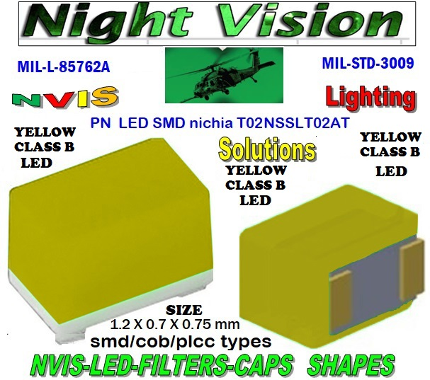 NICHIA NSSLT02AT NICHIA NSSLT02AT , LED NVIS GREEN A 525 nm  FILTER CAP L-65403-R0603-003  L-65196-A0805-003 L-65330-A0805-003 L-65197-B0805-003 L-65250-B0805-003  L-65196-A0603-003 L-65330-A0603-003 L-65197-B0603-003 L-65250-B0603-003 L-65648-W0603-003 L-65951-W0603-003 L-65401-Y0603-003  L-65402-Y0603-003 L-65403-R0603-003 L-65196-A0805-003 L-65330-A0805-003 L-65197-B0805-003 L-65250-B0805-003 L-65648-W0805-003 L-65951-W0805-003 L-65401-Y0805-003 L-65402-Y0805-003 L-65403-R0805-003 L-65196-A1206-002 L-65330-A1206-002  L-65197-B1206-002 L-65250-B1206-002 L-65648-W1206-002  L-65951-W1206-002 L-65401-Y1206-002 L-65402-Y1206-002 L-65403-R1206-002 SMD-PLCC LED NVIS YELLOW CLASS B FILTER CAP 1206 LED NVIS YELLOW CLASS B FILTER 1206 LED NVIS YELLOW CLASS B PCB 1206 SMD-PLCC LED NVIS YELLOW CLASS B FILTER 1206 SMD-PLCC LED NVIS YELLOW CLASS B PCB L-65196-A1206-003 L-65330-A1206-003 L-65197-B1206-003 L-65250-B1206-003  L-65648-W1206-003 L-65951-W1206-003 L-65401-Y1206-003 L-65402-Y1206-003 1206-002 LED NVIS YELLOW CLASS B FILTER 1206-002 LED NVIS YELLOW CLASS B PCB 1206-002 SMD-PLCC LED NVIS YELLOW CLASS B FILTER  1206-002 SMD-PLCC LED NVIS YELLOW CLASS B PCB  L-65403-R1206-003   L-65196-A320-001 L-65330-A320-001 L-65197-B320-001 L-65250-B320-001 L-65648-W320-001  L-65951-W320-001 L-65401-Y320-001 L-65402-Y320-001 L-65403-R320-001 L-65196-A670-001 L-65330-A670-001 L-65197-B670-001 L-65250-B670-001 L-65648-W670-001 0805-003 LED NVIS YELLOW CLASS B FILTER 0805-003 LED NVIS YELLOW CLASS B PCB 0805-003 SMD-PLCC LED NVIS YELLOW CLASS B FILTER 0805-003 SMD-PLCC LED NVIS YELLOW CLASS B PCB L-65951-W670-001   L-65401-Y670-001 L-65401-Y670-001 L-65403-R670-001 L-65196-A460-001 L-65196-A460-001 L-65197-B460-001 L-65250-B460-001 L-65648-W460-001 L-65951-W460-001 L-65401-Y460-001 L-65402-Y460-001 L-65403-R460-001 0603 LED NVIS YELLOW CLASS B FILTER  0603 LED NVIS YELLOW CLASS B PCB  0603 SMD-PLCC LED NVIS YELLOW CLASS B FILTER  0603 SMD-PLCC LED NVIS YELLOW CLASS B PCB    0603-003 LED NVIS YELLOW CLASS B FILTER 0603-003 LED NVIS YELLOW CLASS B PCB 0603-003 SMD-PLCC LED NVIS YELLOW CLASS B FILTER  0603-003 SMD-PLCC LED NVIS YELLOW CLASS B PCB L-65951-W955-001 L-65401-Y955- 001 L-65401-Y0805-003 L-65402-Y0805-003  L-65403-R0805-003  L-65197-B1206-002 L-65250-B1206-002 L-65648-W1206-002 L-65951-W1206-002 L-65401-Y1206-002 L-65402-Y1206-002 L-65403-R1206-002 L-65197-B1206-003 L-65250-B1206-003 L-65648-W1206-003 L-65951-W1206-003 L-65401-Y1206-003 L-65402-Y1206-003 L-65403-R1206-003 L-65196-A320-001 L-65330-A320-001 L-65197-B320-001 L-65250-B320-001 L-65648-W320-001 L-65951-W320-001 L-65401-Y320-001 L-65402-Y320-001 L-65403-R320-001 L-65196-A670-001 L-65330-A670-001 L-65197-B670-001 L-65250-B670-001 L-65648-W670-001 L-65951-W670-001 L-65401-Y670-001 L-65401-Y670-001 L-65403-R670-001 L-65196-A460-001 L-65196-A460-001  L-65196-A1206-002 L-65330-A1206-002 L-65196-A1206-003 L-65330-A1206-003 L-65197-B460-001  L-65250-B460-001 L-65648-W460-001 L-65951-W460-001 L-65401-Y460-001 L-65402-Y460-001 L-65403-R460-001 L-65196-A955-001 L-65330-A955-001 L-65197-B955-001 L-65250-B955-001 L-65648-W955-001 L-65951-W955-001 L-65401-Y955- 001 1206-006 LED NVIS YELLOW CLASS B FILTER 1206-006 LED NVIS YELLOW CLASS B PCB 1206-006 SMD-PLCC LED NVIS YELLOW CLASS B FILTER 1206-006 SMD-PLCC LED NVIS YELLOW CLASS B PCB  0805 LED NVIS YELLOW CLASS B FILTER  0805 LED NVIS YELLOW CLASS B PCB  0805 SMD-PLCC LED NVIS YELLOW CLASS B FILTER  0805 SMD-PLCC LED NVIS YELLOW CLASS B PCB  330 SMD PLCC LED 330 LED NVIS COCKPIT LIGHTING 330 LED HELICOPTERS NIGHT VISION LIGHTING NVIS FILTER L-65196-A0603-003 L-65330-A0603-003  0805-003 LED NVIS YELLOW CLASS B FILTER   0805-003 LED NVIS YELLOW CLASS B PCB   0805-003 SMD-PLCC LED NVIS YELLOW CLASS B FILTER      0805-003 SMD-PLCC LED NVIS YELLOW CLASS B PCB    0603 LED NVIS YELLOW CLASS B FILTER     0603 LED NVIS YELLOW CLASS B PCB     0603 SMD-PLCC LED NVIS YELLOW CLASS B FILTER     0603 SMD-PLCC LED NVIS YELLOW CLASS B PCB       0603-003 LED NVIS YELLOW CLASS B FILTER   0603-003 LED NVIS YELLOW CLASS B PCB   0603-003 SMD-PLCC LED NVIS YELLOW CLASS B FILTER    0603-003 SMD-PLCC LED NVIS YELLOW CLASS B PCB   670 SMD-PLCC LED NVIS YELLOW CLASS B FILTER FILTER CAP 670-001 LED NVIS YELLOW CLASS B FILTER CAP 670-001 LED NVIS YELLOW CLASS B PCB  670-001 SMD-PLCC LED NVIS YELLOW CLASS B FILTER CAP 670-001 SMD-PLCC LED NVIS YELLOW CLASS B PCB  L-65196-A0603-003 NFSW157AT-H3 NICHIA SMD-PLCC LED NVIS YELLOW CLASS B CARNADA NSCW100 NICHIA SMD-PLCC LED NVIS YELLOW CLASS B CARNADA L-65197-B0603-003 L-65250-B0603-003  L-65648-W0603-003 L-65951-W0603-003 L-65401-Y0603-003 L-65402-Y0603-003  L-65403-R0603-003 L-65196-A0805-003 L-65403-R0603-003 L-65196-A0805-003  L-65330-A0805-003 L-65197-B0805-003 L-65250-B0805-003 L-65951-W0805-003 L-65648-W0805-003 L-65401-Y0805-003 L-65402-Y0805-003 L-65403-R0805-003 L-65196-A1206-002 L-65330-A1206-002   NSSW100DT NICHIA SMD-PLCC LED NVIS YELLOW CLASS B CARNADA  5050 SMD-PLCC LED NVIS YELLOW CLASS B CARNADA  330 SMD-PLCC LED NVIS YELLOW CLASS B CARNADA L-65197-B1206-002 L-65250-B1206-002 L-65648-W1206-002 L-65951-W1206-002 L-65401-Y1206-002L-65402-Y1206-002 L-65403-R1206-002 L-65196-A1206-003 L-65330-A1206-003 L-65197-B1206-003L-65250-B1206-003 L-65648-W1206-003 L-65951-W1206-003 L-65401-Y1206-003 L-65402-Y1206-003 L-65403-R1206-003L-65196-A320-001 L-65330-A320-001 L-65197-B320-001 L-65250-B320-001 L-65648-W320-001 L-65951-W320-001 L-65401-Y320-001  L-65402-Y320-001 L-65403-R320-001 L-65196-A670-001 L-65330-A670-001 L-65197-B670-001 L-65250-B670-001 L-65648-W670-001L-65951-W670-001 L-65401-Y670-001 L-65401-Y670-001 L-65403-R670-001 L-65196-A460-001 L-65196-A460-001 L-65197-B460-001  330-001 LED NVIS YELLOW CLASS B FILTER CAP       330-001 LED NVIS YELLOW CLASS B PCB   330-001 SMD-PLCC LED NVIS YELLOW CLASS B FILTER CAP       330-001 SMD-PLCC LED NVIS YELLOW CLASS B PCB   NESSW064AT NICHIA SMD-PLCC LED NVIS YELLOW CLASS B    NSSW204BT NICHIA SMD-PLCC LED NVIS YELLOW CLASS B  L-65250-B460-001 L-65648-W460-001 L-65951-W460-001 L-65401-Y460-001 L-65402-Y460-001 L-65403-R460-001 L-65196-A955-001 L-65330-A955-001 L-65197-B955-001 L-65250-B955-001 L-65648-W955-001 L-65951-W955-001 L-65401-Y955- 001 955 SMD PLCC LED 955 LED 955 LED NVIS  955 LED HELICOPTERS NIGHT VISION LIGHTING   955 NVIS FILTER  955 Night Vision Imaging Systems (NVIS)  955 PILOT NIGHT VISION NVIS ILLUMINATION  955 NVIS Aircraft Upgrades | Night Vision Goggles 955 PILOT NIGHT VISION NVIS ILLUMINATION  955 LED SWITCHES, KEYBOARDS, DIALS, AND DISPLAYS 955 COCKPIT MODIFICATION 955 NVIS compatible lights 955 NVIS filters . NVG lighting 955 NVG lighting control panel customized 955 SMD LED 955 NVIS compatible lights  955 NVIS compatible lights CHIP  955 SMD LED NVIS  955 SMD LED NIGHT VISION  955 SMD PLCC LED AVIONICS 955 AVIONICS NIGHT VISION LIGHTING 955 AVIONICS MODIFICATIONS TO NIGHT VISION   955 LED AVIONICS UPGRADES TO NVIS 955 LED NVIS GREEN A 955 IMPACT SOLAR FILTER NVIS 955 LED NVIS GREEN B   955 LED NVIS WHITE  955 LED NVIS RED  955 LED AIRBUS A 400 GREEN 955-001 SMD PLCC LED 955-001 LED   955-001 LED NVIS  955-001 LED HELICOPTERS NIGHT VISION LIGHTING 955-001 NVIS FILTER 955-001 Night Vision Imaging Systems (NVIS) 955-001 PILOT NIGHT VISION NVIS ILLUMINATION  955-001 NVIS Aircraft Upgrades | Night Vision Goggles 955-001 LED SWITCHES, KEYBOARDS, DIALS, AND DISPLAYS 955-001 COCKPIT MODIFICATION  955-001 NVIS compatible lights    955-001 NVIS filters . NVG lighting  955-001 NVG lighting control panel customized   955-001 SMD LED  955-001 NVIS compatible lights  955-001 NVIS compatible lights CHIP 955-001 SMD LED NVIS 955-001 SMD LED NIGHT VISION 955-001 SMD PLCC LED AVIONICS 955-001 AVIONICS NIGHT VISION LIGHTING 955-001 AVIONICS MODIFICATIONS TO NIGHT VISION 955-001 LED AVIONICS UPGRADES TO NVIS 955-001 LED NVIS GREEN A 955-001 IMPACT SOLAR FILTER NVIS 955-001 LED NVIS GREEN B 955-001 LED NVIS WHITE 955-001 LED NVIS RED 955-001 LED AIRBUS A 400 GREEN  670 SMD LED  670 NVG lighting control panel customized  670 NVIS filters . NVG lighting