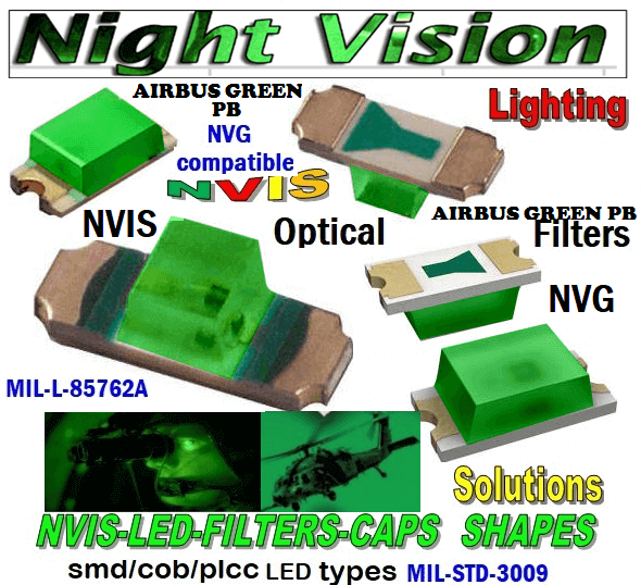 NSSW100DT NICHIA SMD-PLCC LED NVIS AIRBUS GREEN PB CARNADA   5050 SMD-PLCC LED NVIS AIRBUS GREEN PB CARNADA  330 SMD-PLCC LED NVIS AIRBUS GREEN PB CARNADA  330-001 NVIS AIR BUS GREEN BP FILTER CAP       330-001 NVIS AIR BUS GREEN BP PCB   330-001 SMD-PLCC LED NVIS AIR BUS GREEN PB FILTER CAP       330-001 SMD-PLCC LED NVIS AIR BUS GREEN PB PCB   NESSW064AT NICHIA SMD-PLCC LED NVIS AIRBUS GREEN PB    NSSW204BT NICHIA SMD-PLCC LED NVIS AIRBUS GREEN PB    320 NICHIA SMD-PLCC LED NVIS AIRBUS GREEN PB    670-001 NVIS AIR BUS GREEN BP FILTER CAP 670-001 NVIS AIR BUS GREEN BP PCB  670-001 SMD-PLCC LED NVIS AIR BUS GREEN PB FILTER CAP 670-001 SMD-PLCC LED NVIS AIR BUS GREEN PB PCB  460 SMD-PLCC LED NVIS AIRBUS GREEN PB    L-65196-A0603-003 L-65330-A0603-003 L-65197-B0603-003 L-65250-B0603-003 L-65648-W0603-003 L-65951-W0603-003 L-65401-Y0603-003 L-65402-Y0603-003   L-65403-R0603-003  L-65196-A0805-003 L-65330-A0805-003 L-65197-B0805-003 L-65250-B0805-003 L-65648-W0805-003 L-65951-W0805-003 L-65401-Y0805-003 L-65402-Y0805-003 L-65403-R0805-003L-65196-A1206-002 L-65330-A1206-002 L-65197-B1206-002L-65250-B1206-002L-65648-W1206-002 L-65951-W1206-002L-65401-Y1206-002 955 SMD PLCC LED 955 LED L-65402-Y1206-002  L-65403-R1206-002 L-65196-A1206-003 L-65330-A1206-003 L-65197-B1206-003 L-65250-B1206-003 L-65648-W1206-003L-65951-W1206-003L-65401-Y1206-003L-65402-Y1206-003 955 LED NVIS 955 LED HELICOPTERS NIGHT VISION LIGHTING   955 NVIS FILTER  L-65403-R1206-003L-65196-A320-001L-65330-A320-001 L-65197-B320-001 L-65250-B320-001 L-65648-W320-001 L-65951-W320-001 L-65401-Y320-001 L-65402-Y320-001 L-65403-R320-001 L-65196-A670-001 L-65330-A670-001 L-65197-B670-001 L-65250-B670-001 L-65648-W670-001 L-65951-W670-001 L-65401-Y670-001 L-65401-Y670-001 L-65403-R670-001 L-65196-A460-001 L-65196-A460-001 L-65197-B460-001  L-65250-B460-001 L-65648-W460-001 L-65951-W460-001 L-65401-Y460-001 955 Night Vision Imaging Systems (NVIS)  955 NVIS Aircraft Upgrades | Night Vision Goggles 955 PILOT NIGHT V