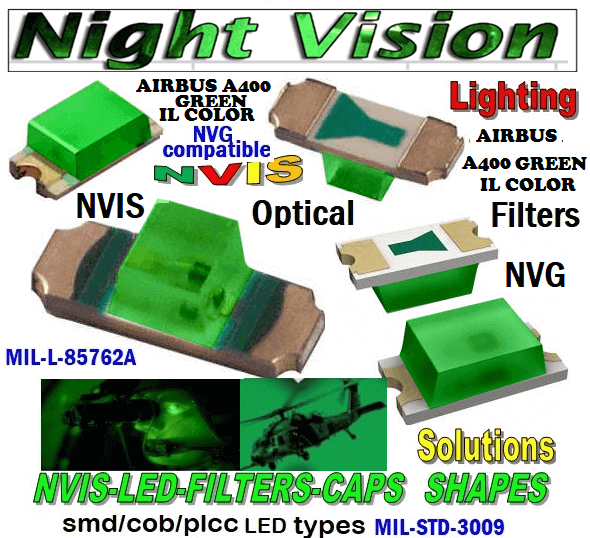 NSSW100DT NICHIA SMD- PLCC LED NVIS AIRBUS A 400 GREEN IL COLOR CARNADA  5050 SMD- PLCC LED NVIS AIRBUS A 400 GREEN IL COLOR CARNADA  330 SMD- PLCC LED NVIS AIRBUS A 400 GREEN IL COLOR CARNADA NESSW064AT NICHIA SMD- PLCC LED NVIS AIRBUS A 400 GREEN IL COLOR    330-001 AIRBUS A400 GREEN IL COLOR FILTER CAP       330-001 AIRBUS A400 GREEN IL COLOR FILTER PCB   330-001 SMD- PLCC LED NVIS AIRBUS A 400 GREEN IL COLOR FILTER CAP       330-001 SMD- PLCC LED NVIS AIRBUS A 400 GREEN IL COLOR PCB  NSSW204BT NICHIA SMD- PLCC LED NVIS AIRBUS A 400 GREEN IL COLOR   320 NICHIA SMD- PLCC LED NVIS AIRBUS A 400 GREEN IL COLOR     460-001 AIRBUS A400 GREEN IL COLOR FILTER CAP 460-001 AIRBUS A400 GREEN IL COLOR FILTER PCB  460-001 SMD- PLCC LED NVIS AIRBUS A 400 GREEN IL COLOR FILTER CAP 460-001 SMD- PLCC LED NVIS AIRBUS A 400 GREEN IL COLOR PCB  460 SMD- PLCC LED NVIS AIRBUS A 400 GREEN IL COLOR   L-65196-A0603-003 L-65330-A0603-003 L-65197-B0603-003 L-65250-B0603-003 L-65648-W0603-003 L-65951-W0603-003 L-65401-Y0603-003 L-65402-Y0603-003   L-65403-R0603-003  L-65196-A0805-003 L-65330-A0805-003 L-65197-B0805-003 L-65250-B0805-003 L-65648-W0805-003 L-65951-W0805-003 L-65401-Y0805-003 L-65402-Y0805-003 L-65403-R0805-003L-65196-A1206-002 L-65330-A1206-002 L-65197-B1206-002L-65250-B1206-002L-65648-W1206-002 L-65951-W1206-002L-65401-Y1206-002 955 SMD PLCC LED 955 LED L-65402-Y1206-002  L-65403-R1206-002 L-65196-A1206-003 L-65330-A1206-003 L-65197-B1206-003 L-65250-B1206-003 L-65648-W1206-003L-65951-W1206-003L-65401-Y1206-003L-65402-Y1206-003 955 LED NVIS 955 LED HELICOPTERS NIGHT VISION LIGHTING   955 NVIS FILTER  L-65403-R1206-003L-65196-A320-001L-65330-A320-001 L-65197-B320-001 L-65250-B320-001 L-65648-W320-001 L-65951-W320-001 L-65401-Y320-001 L-65402-Y320-001 L-65403-R320-001 L-65196-A670-001 L-65330-A670-001 L-65197-B670-001 L-65250-B670-001 L-65648-W670-001 L-65951-W670-001 L-65401-Y670-001 L-65401-Y670-001 L-65403-R670-001 L-65196-A460-001 L-65196-A460-001 L-65197-B460-001  L-65250
