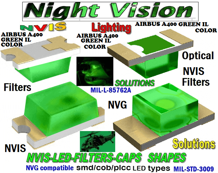 NSSW100DT NICHIA SMD- PLCC LED NVIS AIRBUS A 400 GREEN IL COLOR CARNADA  5050 SMD- PLCC LED NVIS AIRBUS A 400 GREEN IL COLOR CARNADA  330 SMD- PLCC LED NVIS AIRBUS A 400 GREEN IL COLOR CARNADA 330-001 NVIS AIR BUS GREEN BP FILTER CAP       330-001 NVIS AIR BUS GREEN BP PCB   330-001 SMD-PLCC LED NVIS AIR BUS GREEN PB FILTER CAP       330-001 SMD-PLCC LED NVIS AIR BUS GREEN PB PCB   NESSW064AT NICHIA SMD-PLCC LED NVIS AIRBUS GREEN PB    NSSW204BT NICHIA SMD-PLCC LED NVIS AIRBUS GREEN PB    320 NICHIA SMD-PLCC LED NVIS AIRBUS GREEN PB    670-001 NVIS AIR BUS GREEN BP FILTER CAP 670-001 NVIS AIR BUS GREEN BP PCB  670-001 SMD-PLCC LED NVIS AIR BUS GREEN PB FILTER CAP 670-001 SMD-PLCC LED NVIS AIR BUS GREEN PB PCB  460 SMD-PLCC LED NVIS AIRBUS GREEN PB    L-65196-A0603-003 L-65330-A0603-003 L-65197-B0603-003 L-65250-B0603-003 L-65648-W0603-003 L-65951-W0603-003 L-65401-Y0603-003 L-65402-Y0603-003   L-65403-R0603-003  L-65196-A0805-003 L-65330-A0805-003 L-65197-B0805-003 L-65250-B0805-003 L-65648-W0805-003 L-65951-W0805-003 L-65401-Y0805-003 L-65402-Y0805-003 L-65403-R0805-003L-65196-A1206-002 L-65330-A1206-002 L-65197-B1206-002L-65250-B1206-002L-65648-W1206-002 L-65951-W1206-002L-65401-Y1206-002 955 SMD PLCC LED 955 LED L-65402-Y1206-002  L-65403-R1206-002 L-65196-A1206-003 L-65330-A1206-003 L-65197-B1206-003 L-65250-B1206-003 L-65648-W1206-003L-65951-W1206-003L-65401-Y1206-003L-65402-Y1206-003 L-65403-R1206-003L-65196-A320-001L-65330-A320-001 L-65197-B320-001 L-65250-B320-001 L-65648-W320-001 L-65951-W320-001 L-65401-Y320-001 L-65402-Y320-001 L-65403-R320-001 L-65196-A670-001 L-65330-A670-001 L-65197-B670-001 L-65250-B670-001 L-65648-W670-001 L-65951-W670-001 L-65401-Y670-001 L-65401-Y670-001 L-65403-R670-001 L-65196-A460-001 L-65196-A460-001 L-65197-B460-001  L-65250-B460-001 L-65648-W460-001 L-65951-W460-001 L-65401-Y460-001 955 Night Vision Imaging Systems (NVIS)  955 NVIS Aircraft Upgrades   Night Vision Goggles 955 PILOT NIGHT VISION NVIS ILLUMINATION  955 LED SWIT