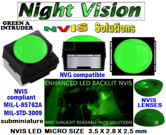 surface mount nvis led FP-1309SMD-WA2-G201-H smd led: nvis smd led  optical products led  subminiature nvis led 3.5 x 2.8 x 2.5 mm size nano nvis led size nvis led lighting nvis upgrades nano subminiature led nvis LEDs Used in Night Vision Imaging Systems (NVIS ...NVG/NVIS for LED Light Sources - avionics Aerospace Nvis optics Lighting optics, nvis filtering nvis optical mini nano led Nano LED Lights‎ LED Mini smd tlcc (Visible & NVIS) | Military & defense  LED Mini smd tlcc  (Visible Lighting optics, nvis filtering nvis optical mini nano led Nano LED Lights‎ LED Mini smd tlcc (Visible & NVIS) | Military & defense LED Mini smd tlcc  (Visible & NVIS) NVIS Filter/SMD LED Assemblies NVIS Compliant SMD Type LEDs - Aerospace  NVIS Compliant Filtered SMD/PLCC Type LEDs   NESSW064AT NICHIA SMD-PLCC LED NVIS GREEN A INTRUDER     330-001 NVIS GREEN A INTRUDER FILTER CAP       330-001 NVIS GREEN A INTRUDER PCB   330-001 SMD-PLCC LED NVIS GREEN A INTRUDER FILTER CAP       330-001 SMD-PLCC LED NVIS GREEN A INTRUDER PCB   NSSW204BT NICHIA SMD-PLCC LED NVIS GREEN A INTRUDER     L-65196-A0603-003 L-65330-A0603-003 L-65197-B0603-003  L-65250-B0603-003 L-65648-W0603-003 L-65951-W0603-003 L-65401-Y0603-003 L-65402-Y0603-003   L-65403-R0603-003  L-65196-A0805-003 L-65330-A0805-003 L-65197-B0805-003 L-65250-B0805-003 L-65648-W0805-003 L-65951-W0805-003 320 NICHIA SMD-PLCC LED NVIS GREEN A INTRUDER    460-001 NVIS GREEN A INTRUDER FILTER CAP 460-001 NVIS GREEN A INTRUDER PCB  460-001 SMD-PLCC LED NVIS GREEN A INTRUDER FILTER CAP 460-001 SMD-PLCC LED NVIS GREEN A INTRUDER PCB  460 SMD-PLCC LED NVIS GREEN A INTRUDER    L-65401-Y0805-003 L-65402-Y0805-003 L-65403-R0805-003L-65196-A1206-002 L-65330-A1206-002 L-65197-B1206-002L-65250-B1206-002L-65648-W1206-002 L-65951-W1206-002L-65401-Y1206-002L-65402-Y1206-002  L-65403-R1206-002 L-65196-A1206-003 L-65330-A1206-003 L-65197-B1206-003 L-65250-B1206-003 L-65648-W1206-003L-65951-W1206-003L-65401-Y1206-003L-65402-Y1206-003 L-65403-R1206-003L-65196-A320-001L-65330-A320-001 955 LED NVIS 955 LED HELICOPTERS NIGHT VISION LIGHTING   955 NVIS FILTER L-65197-B320-001 L-65250-B320-001 L-65648-W320-001 L-65951-W320-001 L-65401-Y320-001 L-65402-Y320-001 L-65403-R320-001 L-65196-A670-001 L-65330-A670-001 L-65197-B670-001 L-65250-B670-001 L-65648-W670-001 L-65951-W670-001 L-65401-Y670-001 L-65401-Y670-001 L-65403-R670-001 L-65196-A460-001 L-65196-A460-001 L-65197-B460-001  L-65250-B460-001 L-65648-W460-001 L-65951-W460-001 L-65401-Y460-001 955 Night Vision Imaging Systems (NVIS)  955 NVIS Aircraft Upgrades | Night Vision Goggles 955 PILOT NIGHT VISION NVIS ILLUMINATION  955 LED SWITCHES, KEYBOARDS, DIALS, AND DISPLAYS 955 COCKPIT MODIFICATION 955 NVIS compatible lights 955 NVIS filters . NVG lighting 955 NVG lighting control panel customized 955 SMD LED 955 NVIS compatible lights  955 NVIS compatible lights CHIP  955 SMD LED NVIS    955 SMD LED NIGHT VISION  955 SMD PLCC LED AVIONICS 955 AVIONICS NIGHT VISION LIGHTING 955 AVIONICS MODIFICATIONS TO NIGHT VISION   955 LED AVIONICS UPGRADES TO NVIS 955 LED NVIS GREEN A 955 IMPACT SOLAR FILTER NVIS 955 LED NVIS GREEN B 955 LED NVIS WHITE  955 LED NVIS RED  955 LED AIRBUS A 400 GREEN  955-001 SMD PLCC LED 955-001 LED   955-001 LED NVIS  955-001 LED HELICOPTERS NIGHT VISION LIGHTING  955-001 NVIS FILTER 955-001 Night Vision Imaging Systems (NVIS) 955-001 PILOT NIGHT VISION NVIS ILLUMINATION  955-001 NVIS Aircraft Upgrades | Night Vision Goggles  955-001 LED SWITCHES, KEYBOARDS, DIALS, AND DISPLAYS 955-001 COCKPIT MODIFICATION  955-001 NVIS compatible lights    955-001 NVIS filters . NVG lighting  955-001 NVG lighting control panel customized   955-001 SMD LED 955-001 NVIS compatible lights  955-001 NVIS compatible lights CHIP 955-001 SMD LED NVIS 955-001 SMD LED NIGHT VISION  955-001 SMD PLCC LED AVIONICS 955-001 AVIONICS NIGHT VISION LIGHTING 955-001 AVIONICS MODIFICATIONS TO NIGHT VISION 955-001 LED AVIONICS UPGRADES TO NVIS  955-001 LED NVIS GREEN A 955-001 IMPACT SOLAR FILTER NVIS 955-001 LED NVIS GREEN B 955-001 LED NVIS WHITE 955-001 LED NVIS RED 955-001 LED AIRBUS A 400 GREEN 670 NVG lighting control panel customized  670 NVIS filters . NVG lighting  670 NVIS compatible lights  670 COCKPIT MODIFICATION 670 LED SWITCHES, KEYBOARDS, DIALS, AND DISPLAYS  670 NVIS Aircraft Upgrades | Night Vision Goggles  670 PILOT NIGHT VISION NVIS ILLUMINATION  670 Night Vision Imaging Systems (NVIS  670 NVIS FILTER 670 LED HELICOPTERS NIGHT VISION LIGHTING  670 LED NVIS 670 LED 670 SMD PLCC LED