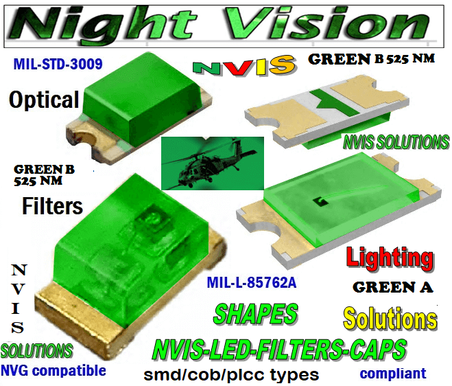 670 SMD LED GREEN B 525 NM FILTER   670 SMD LED GREEN B PCB   670 SMD-PLCC LED NVIS GREEN B 525 NM FILTER  670 SMD-PLCC LED NVIS GREEN B NM PCB   670-001 SMD LED NVIS GREEN B 525 nm FILTER CAP   3 670-001 SMD LED NVIS GREEN B nm PCB  670-001 SMD-PLCC LED NVIS GREEN B 525 nm FILTER CAP  670-001 SMD-PLCC LED NVIS GREEN B nm PCB  NFSW157AT-H3 NICHIA SMD-PLCC LED NVIS GREEN B 525 NM  NSCW100 NICHIA SMD-PLCC LED NVIS GREEN B 525 NM FILTER CAP    NSCW455AT NICHIA SMD-PLCC LED NVIS GREEN B 525 nm FILTER CAP     NSSW100DT NICHIA SMD-PLCC LED NVIS GREEN B 525 nm FILTER CAP    5050 SMD-PLCC LED NVIS GREEN B 525 nm FILTER CAP     330 SMD-PLCC LED NVIS GREEN B 525 nm FILTER CAP     330-001 SMD LED NVIS GREEN B 525 nm FILTER CAP       330-001 SMD LED NVIS GREEN B nm PCB   330-001 SMD-PLCC LED NVIS GREEN B 525 nm FILTER CAP       330-001 SMD-PLCC LED NVIS GREEN B nm PCB   NESSW064AT NICHIA SMD-PLCC LED NVIS GREEN B 525 nm FILTER CAP       NSSW204BT NICHIA SMD-PLCC LED NVIS GREEN B 525 nm FILTER CAP      320 SMD-PLCC LED NVIS GREEN B 525 nm FILTER CAP 320-001 SMD LED NVIS GREEN B 525 nm FILTER CAP 320-001 SMD LED NVIS GREEN B nm PCB  320-001 SMD-PLCC LED NVIS GREEN B 525 nm FILTER CAP 320-001 SMD-PLCC LED NVIS GREEN B nm PCB  460 SMD-PLCC LED NVIS GREEN B 525 nm FILTER CAP L-65196-A0603-003 L-65330-A0603-003 L-65197-B0603-003 L-65250-B0603-003 L-65648-W0603-003 L-65951-W0603-003 L-65401-Y0603-003 L-65402-Y0603-003   L-65403-R0603-003  L-65196-A0805-003 L-65330-A0805-003 L-65197-B0805-003 L-65250-B0805-003 L-65648-W0805-003 L-65951-W0805-003 L-65401-Y0805-003 L-65402-Y0805-003 L-65403-R0805-003L-65196-A1206-002 L-65330-A1206-002 L-65197-B1206-002L-65250-B1206-002L-65648-W1206-002 L-65951-W1206-002L-65401-Y1206-002 955 SMD PLCC LED 955 LED L-65402-Y1206-002  L-65403-R1206-002 L-65196-A1206-003 L-65330-A1206-003 L-65197-B1206-003 L-65250-B1206-003 L-65648-W1206-003L-65951-W1206-003L-65401-Y1206-003L-65402-Y1206-003 955 LED NVIS 955 LED HELICOPTERS NIGHT VISION LIGHTING   955 NVIS FIL