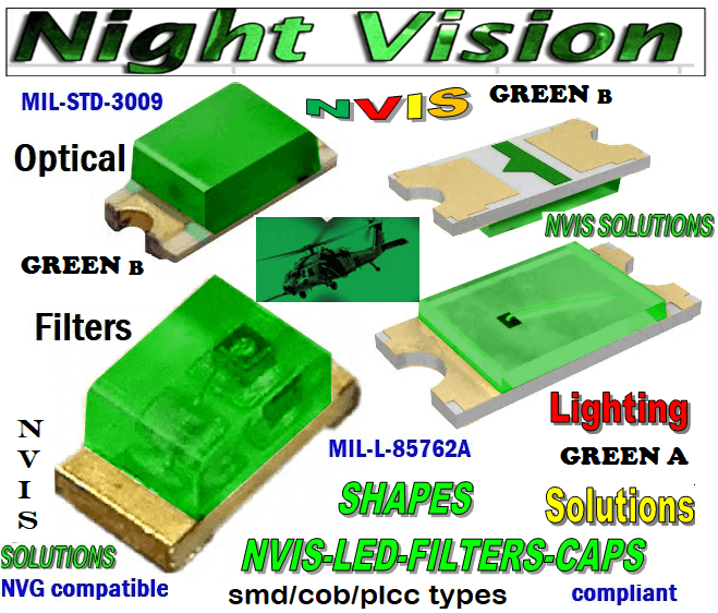 670 SMD LED NVIS GREEN B FILTER CAP     670 SMD LED NVIS GREEN B PCB   670 SMD-PLCC LED NVIS GREEN B FILTER    670 SMD-PLCC LED NVIS GREEN B PCB    670-001 SMD LED NVIS GREEN B FILTER CAP     670-001 SMD LED NVIS GREEN B PCB   670-001 SMD-PLCC LED NVIS GREEN B FILTER CAP    670-001 SMD-PLCC LED NVIS GREEN B PCB   NFSW157AT-H3 NICHIA SMD-PLCC LED NVIS GREEN B FILTER CAP   NSCW100 NICHIA SMD-PLCC LED NVIS GREEN B FILTER CAP    NSCW455AT NICHIA SMD-PLCC LED NVIS GREEN B FILTER CAP     NSSW100BT NICHIA SMD-PLCC LED NVIS GREEN B FILTER CAP     NSSW100DT NICHIA SMD-PLCC LED NVIS GREEN B FILTER CAP     5050 SMD-PLCC LED NVIS GREEN B FILTER CAP     330 SMD-PLCC LED NVIS GREEN B FILTER CAP     330-001 SMD LED NVIS GREEN B FILTER CAP       330-001 SMD LED NVIS GREEN B PCB   330-001 SMD-PLCC LED NVIS GREEN B FILTER CAP       330-001 SMD-PLCC LED NVIS GREEN B PCB   NESSW064AT NICHIA SMD-PLCC LED NVIS GREEN B FILTER CAP       NSSW204BT NICHIA SMD-PLCC LED NVIS GREEN B FILTER CAP      320 SMD-PLCC LED NVIS GREEN B FILTER CAP 320-001 SMD LED NVIS GREEN B FILTER CAP 320-001 SMD LED NVIS GREEN B PCB  320-001 SMD-PLCC LED NVIS GREEN B FILTER CAP 320-001 SMD-PLCC LED NVIS GREEN B PCB  460 SMD-PLCC LED NVIS GREEN B FILTER CAP L-65196-A0603-003 L-65330-A0603-003 L-65197-B0603-003 L-65250-B0603-003 L-65648-W0603-003 L-65951-W0603-003 L-65401-Y0603-003 L-65402-Y0603-003   L-65403-R0603-003  L-65196-A0805-003 L-65330-A0805-003 L-65197-B0805-003 L-65250-B0805-003 L-65648-W0805-003 L-65951-W0805-003 L-65401-Y0805-003 L-65402-Y0805-003 L-65403-R0805-003L-65196-A1206-002 L-65330-A1206-002 L-65197-B1206-002L-65250-B1206-002L-65648-W1206-002 L-65951-W1206-002L-65401-Y1206-002 955 SMD PLCC LED 955 LED L-65402-Y1206-002  L-65403-R1206-002 L-65196-A1206-003 L-65330-A1206-003 L-65197-B1206-003 L-65250-B1206-003 L-65648-W1206-003L-65951-W1206-003L-65401-Y1206-003L-65402-Y1206-003 955 LED NVIS 955 LED HELICOPTERS NIGHT VISION LIGHTING   955 NVIS FILTER  L-65403-R1206-003L-65196-A320-001L-65330-A320-00