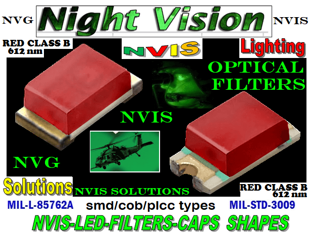 670 SMD-PLCC LED NVIS RED CLASS B 612 NM FILTER PCB  670-001 SMD LED NVIS RED CLASS B 612 nm FILTER CAP   670-001 SMD LED NVIS RED CLASS B 612 nm PCB  670-001 SMD-PLCC LED NVIS RED CLASS B 612 NM FILTER CAP   670-001 SMD-PLCC LED NVIS RED CLASS B 612 NM FILTER PCB  NFSW157AT-H3 NICHIA SMD-PLCC LED NVIS RED CLASS B 612 NM FILTER  NSCW100 NICHIA SMD-PLCC LED NVIS RED CLASS B 612 NM   NSCW455AT NICHIA SMD-PLCC LED NVIS RED CLASS B 612 nm   NSSW100BT NICHIA SMD-PLCC LED NVIS RED CLASS B 612 NM   NSSW100DT NICHIA SMD-PLCC LED NVIS RED CLASS B 612 nm CARNADA 5050 SMD-PLCC LED NVIS RED CLASS B 612 nm CARNADA  330 SMD-PLCC LED NVIS RED CLASS B 612 nm CARNADA 330-001 SMD LED NVIS RED CLASS B 612 nm FILTER CAP       330-001 SMD LED NVIS RED CLASS B 612 nm PCB   330-001 SMD-PLCC LED NVIS RED CLASS B 612 NM FILTER CAP       330-001 SMD-PLCC LED NVIS RED CLASS B 612 NM FILTER PCB   NSSW204BT NICHIA SMD-PLCC LED NVIS RED CLASS B 612 nm   NESSW064AT NICHIA SMD-PLCC LED NVIS RED CLASS B 612 nm   320 NICHIA SMD-PLCC LED NVIS RED CLASS B 612 nm   320-001 SMD LED NVIS RED CLASS B 612 nm FILTER CAP 320-001 SMD LED NVIS RED CLASS B 612 nm PCB  320-001 SMD-PLCC LED NVIS RED CLASS B 612 NM FILTER CAP 320-001 SMD-PLCC LED NVIS RED CLASS B 612 NM FILTER PCB  460 SMD-PLCC LED NVIS RED CLASS B 612 nm   L-65196-A0603-003 L-65330-A0603-003 L-65197-B0603-003 L-65250-B0603-003 L-65648-W0603-003 L-65951-W0603-003 L-65401-Y0603-003 L-65402-Y0603-003   L-65403-R0603-003  L-65196-A0805-003 L-65330-A0805-003 L-65197-B0805-003 L-65250-B0805-003 L-65648-W0805-003 L-65951-W0805-003 L-65401-Y0805-003 L-65402-Y0805-003 L-65403-R0805-003L-65196-A1206-002 L-65330-A1206-002 L-65197-B1206-002L-65250-B1206-002L-65648-W1206-002 L-65951-W1206-002L-65401-Y1206-002 955 SMD PLCC LED 955 LED L-65402-Y1206-002  L-65403-R1206-002 L-65196-A1206-003 L-65330-A1206-003 L-65197-B1206-003 L-65250-B1206-003 L-65648-W1206-003L-65951-W1206-003L-65401-Y1206-003L-65402-Y1206-003 955 LED NVIS 955 LED HELICOPTERS NIGHT VISION LIGHT