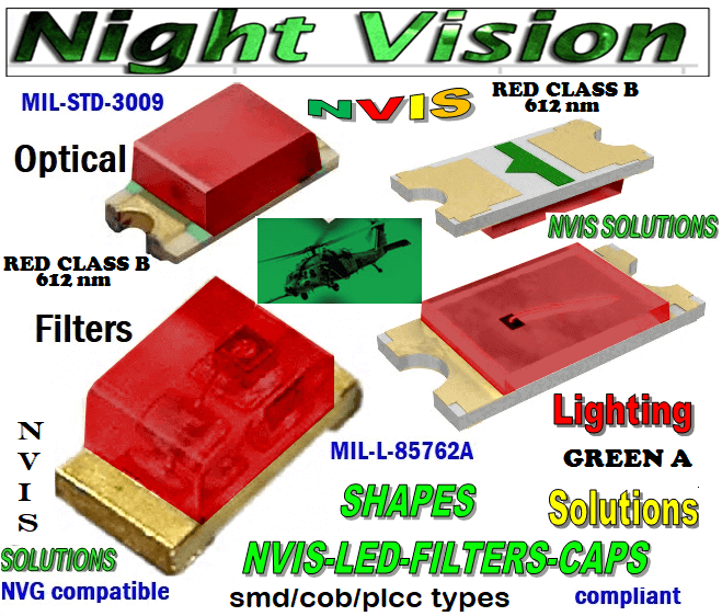 670 SMD LED NVIS RED CLASS B FILTER CAP    670 SMD LED NVIS RED CLASS B PCB  670 SMD-PLCC LED NVIS RED CLASS B FILTER CAP    670SMD-PLCC LED NVIS RED CLASS B PCB  670-001 SMD LED NVIS RED CLASS B FILTER CAP   670-001 SMD LED NVIS RED CLASS B PCB  670-001 SMD-PLCC LED NVIS RED CLASS B FILTER CAP    670-001 SMD-PLCC LED NVIS RED CLASS B PCB NFSW157AT-H3 NICHIA SMD-PLCC LED NVIS RED CLASS B FILTER CAP    NSCW100 NICHIA SMD-PLCC LED NVIS RED CLASS B FILTER CAP     NSCW455AT NICHIA SMD-PLCC LED NVIS RED CLASS B FILTER CAP     NSSW100BT NICHIA SMD-PLCC LED NVIS RED CLASS B FILTER CAP      NSSW100DT NICHIA SMD-PLCC LED NVIS RED CLASS B 612 nm CARNADA 5050 SMD-PLCC LED NVIS RED CLASS B 612 nm CARNADA  330 SMD-PLCC LED NVIS RED CLASS B 612 nm CARNADA 330-001 SMD LED NVIS RED CLASS B 612 nm FILTER CAP       330-001 SMD LED NVIS RED CLASS B 612 nm PCB   330-001 SMD-PLCC LED NVIS RED CLASS B 612 NM FILTER CAP       330-001 SMD-PLCC LED NVIS RED CLASS B 612 NM FILTER PCB   NSSW204BT NICHIA SMD-PLCC LED NVIS RED CLASS B 612 nm   NESSW064AT NICHIA SMD-PLCC LED NVIS RED CLASS B 612 nm   L-65196-A0603-003 L-65330-A0603-003 L-65197-B0603-003 L-65250-B0603-003 L-65648-W0603-003 L-65951-W0603-003 L-65401-Y0603-003 L-65402-Y0603-003   L-65403-R0603-003  L-65196-A0805-003 L-65330-A0805-003 L-65197-B0805-003 L-65250-B0805-003 L-65648-W0805-003 L-65951-W0805-003 L-65401-Y0805-003 L-65402-Y0805-003 L-65403-R0805-003L-65196-A1206-002 L-65330-A1206-002 L-65197-B1206-002L-65250-B1206-002L-65648-W1206-002 L-65951-W1206-002L-65401-Y1206-002  955 SMD PLCC LED 955 LED L-65402-Y1206-002  L-65403-R1206-002 L-65196-A1206-003 L-65330-A1206-003 L-65197-B1206-003 L-65250-B1206-003 L-65648-W1206-003L-65951-W1206-003L-65401-Y1206-003L-65402-Y1206-003 955 LED NVIS 955 LED HELICOPTERS NIGHT VISION LIGHTING   955 NVIS FILTER  L-65403-R1206-003L-65196-A320-001L-65330-A320-001 L-65197-B320-001 L-65250-B320-001 L-65648-W320-001 L-65951-W320-001 L-65401-Y320-001 L-65402-Y320-001 L-65403-R320-001 L-65196-A670-001
