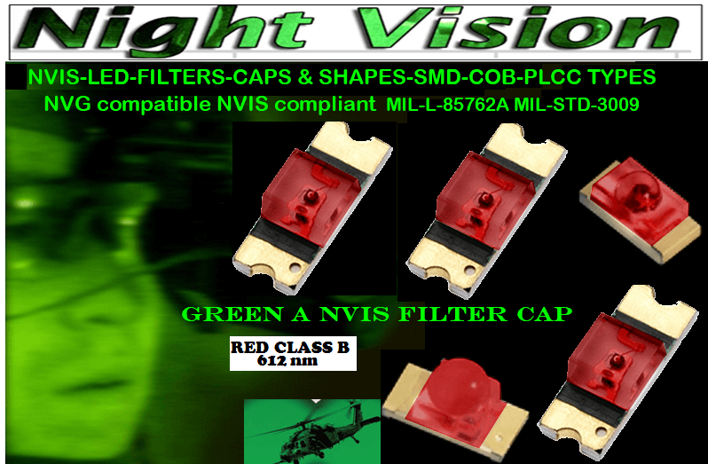 NSSW100DT NICHIA SMD-PLCC LED NVIS RED CLASS B 612 nm CARNADA 5050 SMD-PLCC LED NVIS RED CLASS B 612 nm CARNADA  330 SMD-PLCC LED NVIS RED CLASS B 612 nm CARNADA 330-001 SMD LED NVIS RED CLASS B 612 nm FILTER CAP       330-001 SMD LED NVIS RED CLASS B 612 nm PCB   330-001 SMD-PLCC LED NVIS RED CLASS B 612 NM FILTER CAP       330-001 SMD-PLCC LED NVIS RED CLASS B 612 NM FILTER PCB   NSSW204BT NICHIA SMD-PLCC LED NVIS RED CLASS B 612 nm   NESSW064AT NICHIA SMD-PLCC LED NVIS RED CLASS B 612 nm   320 NICHIA SMD-PLCC LED NVIS RED CLASS B 612 nm   320-001 SMD LED NVIS RED CLASS B 612 nm FILTER CAP 320-001 SMD LED NVIS RED CLASS B 612 nm PCB  320-001 SMD-PLCC LED NVIS RED CLASS B 612 NM FILTER CAP 320-001 SMD-PLCC LED NVIS RED CLASS B 612 NM FILTER PCB  460 SMD-PLCC LED NVIS RED CLASS B 612 nm   L-65196-A0603-003 L-65330-A0603-003 L-65197-B0603-003 L-65250-B0603-003 L-65648-W0603-003 L-65951-W0603-003 L-65401-Y0603-003 L-65402-Y0603-003   L-65403-R0603-003  L-65196-A0805-003 L-65330-A0805-003 L-65197-B0805-003 L-65250-B0805-003 L-65648-W0805-003 L-65951-W0805-003 L-65401-Y0805-003 L-65402-Y0805-003 L-65403-R0805-003L-65196-A1206-002 L-65330-A1206-002 L-65197-B1206-002L-65250-B1206-002L-65648-W1206-002 L-65951-W1206-002L-65401-Y1206-002 955 SMD PLCC LED 955 LED L-65402-Y1206-002  L-65403-R1206-002 L-65196-A1206-003 L-65330-A1206-003 L-65197-B1206-003 L-65250-B1206-003 L-65648-W1206-003L-65951-W1206-003L-65401-Y1206-003L-65402-Y1206-003 955 LED NVIS 955 LED HELICOPTERS NIGHT VISION LIGHTING   955 NVIS FILTER L-65403-R1206-003L-65196-A320-001L-65330-A320-001 L-65197-B320-001 L-65250-B320-001 L-65648-W320-001 L-65951-W320-001 L-65401-Y320-001 L-65402-Y320-001 L-65403-R320-001 L-65196-A670-001 L-65330-A670-001 L-65197-B670-001 L-65250-B670-001 L-65648-W670-001 L-65951-W670-001 L-65401-Y670-001 L-65401-Y670-001 L-65403-R670-001 L-65196-A460-001 L-65196-A460-001 L-65197-B460-001  L-65250-B460-001 L-65648-W460-001 L-65951-W460-001 L-65401-Y460-001 955 Night Vision Imaging Systems 