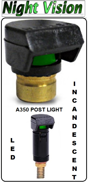 A350 post light led