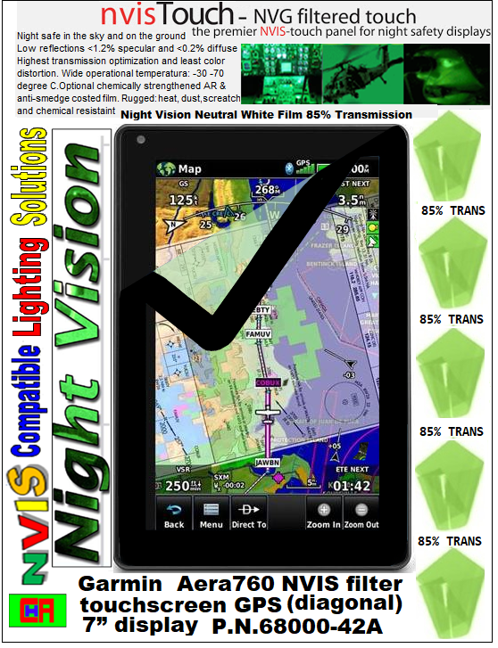 aera 760 NVIS filter display 7-inch diagonal touch screen GPS garmin aera 760 Portable Aviation GPS 7-inch, garmin GPS AERA 760, garmin aera 760 portable aviation GPS, aera 760  display 7-inch diagonal touch screen GPS, aera 760  Touch screen Aviation GPS Portable