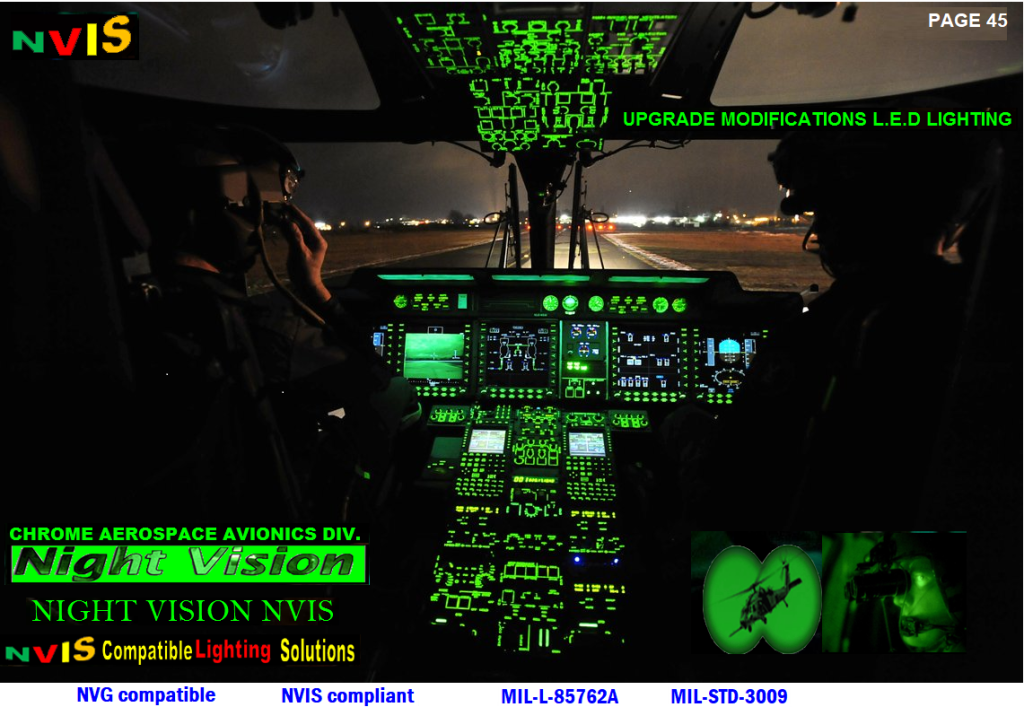 NVG Compatible Aircraft Lightingaircraft instruments retrofitting to night vision  aircraft instruments lighting to night visionaircraft instruments latest technology aircraft instruments technologyavionics instruments flight deckaircraft instruments latest flight deckaircraft instruments lighting flight deckaircraft instruments latest technology avionics instruments lighting retrofitting nvisavionics edge lite panels retrofitting nvisNVG/NVIS Compatible Cockpit Panels - Military Systems & Technology Cockpit Controls & Panels aircraft lighting instrumentsnvis cockpit lightingavionics helicopters modification nviscockpit nvis ledNVG Compatible Aircraft LightingUH-1H HELICOPTER NVISAH-1H Cobra HELICOPTERBK117C-1 NVG Cockpit cob ledAircraft Interior Upgrades led nvisAIRCRAFT VOLTS INCANDESCENT WEDGE LIGHT NVISAIRCRAFT INSTRUMENT WEDGE LIGHTING NVIS AIRCRAFT INSTRUMENT PANEL LIGHTING NVISAIRCRAFT INSTRUMENT PANEL WEDGE FLOW LIGHTAVIONICS WHITE NVIS WEDGE LIGHTING AIRCRAFT PANEL LIGHTINGAIRCRAFT PANEL LIGHTING LED AIRCRAFT PANEL LIGHTING WEDGE LIGHTAVIONICS WEDGE LIGHT INSTRUMENT UPGRADES UPGRADES LED  AIRCRAFT AVIONICS   COMPONENTS FOR CREW STATION AIRCRAFTPanel Lighting - Aircraft panel lighting internal lighting system nvis cob ledavionics instrument panel post light upgrades avionics wedges instrument lighting system general aviation instrument lighting avionics nvg civil industry lighting helicopter nvis modificationsavionics upgrade nvis lighting wedgesbell helicopter nvis modificationsavionics night vision compatible solutions wedges helicopter Upgrade of Bell 112EP Night Vision system Aircraft Night Vision Solutionshelicopter Upgrade of Bell 412EP Night Vision system  upgradesavionics Vehicle NVG Up grades panel aircraft military vehicle lighting upgradeshelicopter Bell 505 Night Vision Compatible Lighting System  Helicopter Night Vision Compatible Cockpitspiper Cherokee instrument panel overlay aircraft illuminated panelsCessna instrument panel overlay aircraft 