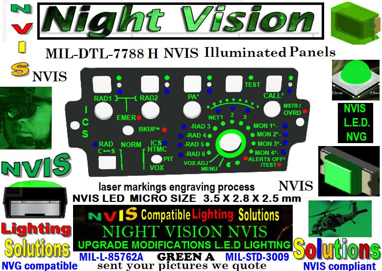 Aircraft Edge Lit Panel, Cockpit Edge Lit Panels nvis panel mil-dtl-7788 panels edge lit led panel led backlight panel  led panel light flush mount led panel light custom size led light panels MIL-DTL-7788 H PANELS INFORMATION INTEGRALLY  NVIS Edge Lit Panels for Night Vision Illuminated Panels & Light Plates MIL-DTL-7788 H PANELS INFORMATION INTEGRALLY  MIL-SPECS-MIL-DTL MIL-DTL-7788H, DETAILSPECIFICATION: PANELS,iNFORMATION, INTEGRALLYILLUMINATED MIL-DTL-7788 G PANELS INFORMATION INTEGRALLY  night vision goggles for general aviation smd integrations nvis modification LEDs long life cold lighting panels nvg filter panel upgrades avionics cockpit integrally illuminated panel nvis nvis keyboard panel fabrication Integrated Control Panels, Integrated and nvis panel integration cockpit nvis upgrades Illuminated Information Panels | NIGHT VISION lluminated Panels - International nvis LEDs source nvis keyboard panel operational night vision keyboard panel helicopters night vision dashboard panel helicopters night operations nvis panels helicopters night operations nvis cockpit helicopters edge lit panels avionics panel LED Technology nvg avionics edge lit panels Nvis lighting modifications  Custom Size & Shape Led Panel - LED Backlit Panels night vision Refurbishing old Panels to night vision avionics  Custom LED Panel Light For nvg upgrades avionics NVIS Edge Lit Panels for Night vision  Avionics nvis panels upgrades helicopters nvis lighting panel components aircraft illuminated panels RETROFITING NVIS  AIRCRAFT PANEL LIGHTING  PLCC-SMD NIGHT VISION Aircraft Edge Lit Panel, Cockpit Edge Lit Panels night vision ANNUNCIATOR PANEL LIGHTING NVIS UPGRADES CESSNA PANEL LOW VOLTAGE NVIS PANELS  INTERNATIONAL AVIONICS 82 NVIS REFURBISHED COCKPIT PANELS Avionics Panel lighting pilots of America NVIS MODIFICATIONS Avionics aircraft control panels NVIS MODIFICATIONS Avionics laser engraving backlit panels NVIS MODIFICATIONS Avionics Nvis-light panel avionic lighting NVIS MODIFICA