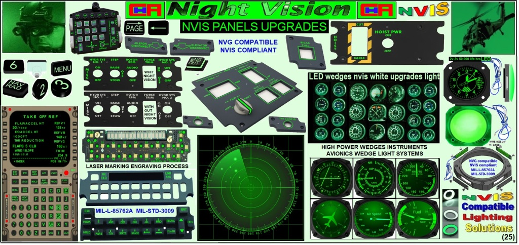 Aircraft panels wedge night vision cockpit upgrades Aviation nvis panel wedge avionics technology  mil dtl 7788 night visión  Airplane nvis night vision flight  Cessna panel wedges overlay nvis alternatives Aircraft panel wedge avionics lighting night  vision  Aircraft cockpit nvis lighting upgrades  Nigh vision retrofitting panels led nvis panel avionics cockpit nvis panels avionics Piper aircraft nvg commence modifications Avionics night vision upgrades cockpit Aerospace panel night visión avionics retrofiting Refurbished panels wedge nvis cockpit panels nvis  Refurbished night vision instruments avionics nvis Refurbished lighting night vision aircraft  Cessna nvg 152 instrument lighting nvis Cessna next air night vision avionics upgrades Bell night vision n429 fly controls Simulator nvis display aircraft panels wedge bezels  Night vision panels wedge cockpit Bell panels wedge nvg 412 New nvis avionics solution for king air nvis  New avionics solutions Cessna nvis  New avionics solutions piper aircraft nvg New avionics solutions modifications nvis New avionics solutions upgrade nvis New avionics solutions wedge light night vision New avionics solution bezels night vision Aircraft parts wedge bezels nvis lighting  Piper Cherokee instrument panels lighting nvis Led light sources for small aircraft nvis Avionics instruments lighting system night vision Night vision lights provide even 360-degree lighting around the instrument. nvis Wedge light provide even360* degree lighting instrument surface nvg Avionics LED Lighting wedges Upgrades night vision  Led Backlighting nvis of Instruments on the Flight Deck  Retrofit avionics nvg panel wedges  bezels Popular piper  nvg comanche modifications Aircraft night vision modification International wedge night vision avionics  Refurbished wedge nvis cockpit panels  Refurbished night vision instruments avionics Refurbished lighting night vision aircraft Panels lightig pilots nvis Avionics Upgrade of Bell helicopter wedges Night v