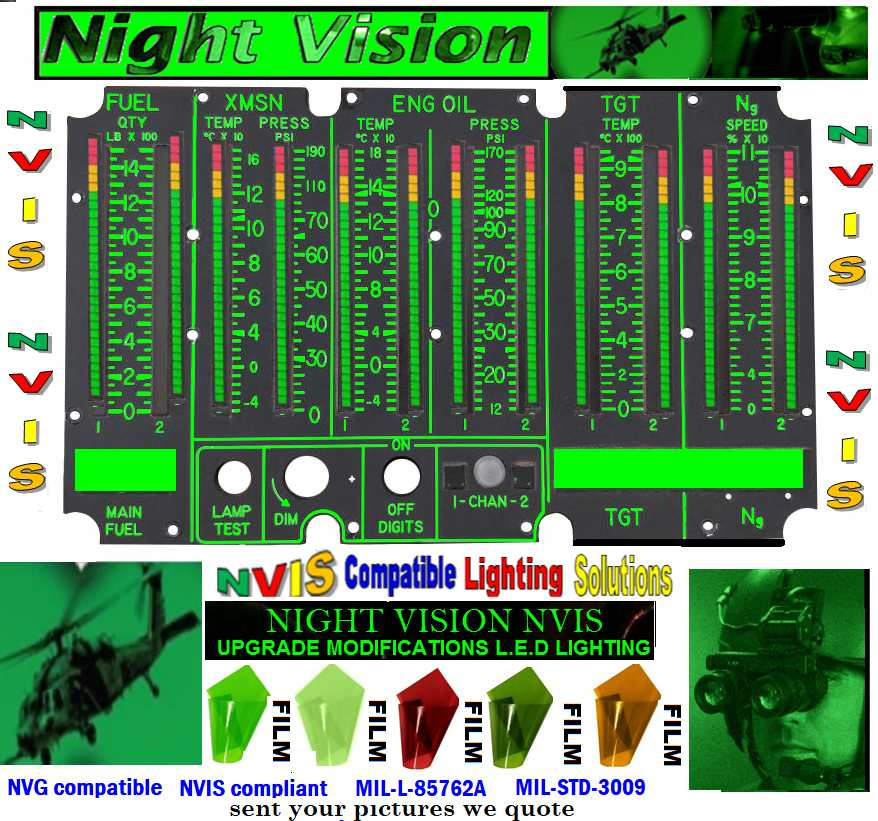 Complete Night Vision Solutions helicopters aircraft.MIL-L-85762A upgrades nvis Night Vision upgrades– rotor and fixed-wing Bell 505 Night Vision Compatible Lighting Upgrade of Bell 112 Night Vision system Upgrade of Bell 412EP Night Vision system night vision compatible solutions helicopters helicopter nvis modifications Avionics airplane instrument panel layout nvis Avionics fly instruments panels.nvis Avionics nvg digital fly instruments Avionics avionics instruments in aircraft nvis Avionics LED NIGHT VISION MODIFICATIONS Avionics Cessna 210 cockpit night vision Avionics aircraft lighting instruments night vision Avionics for night flying operations, the best night vision Avionics night vision operations aviation with night vision Avionics NVG Compatible cockpit lighting Avionics NVIS COMPATBLE & LIGHTING SOLUTIONS Avionics (LEDs) Used in Night Vision Imaging System (NVIS) Avionics Full Front NVIS Integration  Avionics for helicopters night vision Avionics upgrade aircraft instruments night vision Avionics NVG compatibility requirements Avionics Night Vision Lighting Avionics Cockpit Controls & Panels NVG Avionics Nvis-lite Cockpit lights keep gauges visible Avionics east west avionics night vision Avionics Cockpit Lighting Choices  night vision Avionics aircraft instrument gauges night vision Avionics integrated fly deck upgrades night vision Avionics instruments dials night vision Avionics euro copter fly controls night vision Avionics euro copter as350 helicopter cockpit night vision Avionics aircraft dash lights night vision Avionics components of aircraft instruments panels night vision Avionics aircraft instrument panel bezel wedge night vision Avionics aircraft instrument panel design night vision Avionics small aircraft instrument panel night vision Avionics instrument panel lights night vision Avionics aircraft instrument panels over lays night vision Avionics custom aircraft instrument panels night vision Avionics aviation avionics and instruments pane